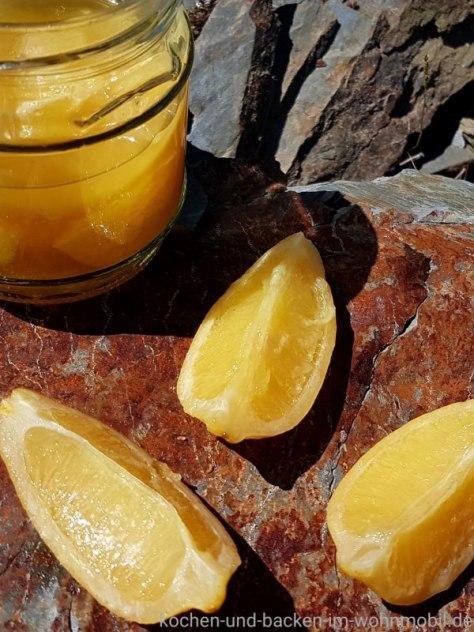einglegte Salzzitronen wie in Marokko