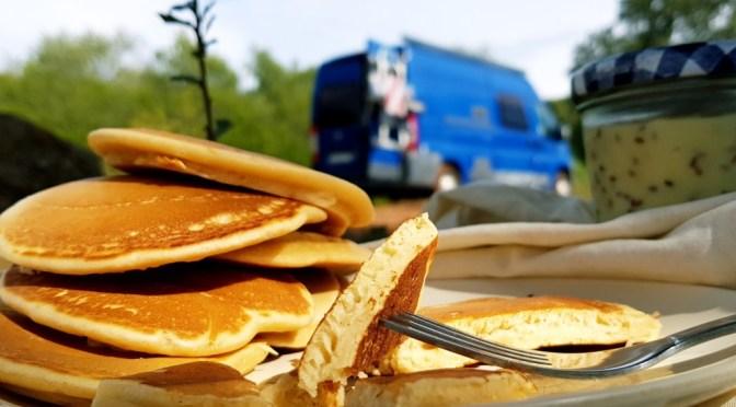 Fluffige, dicke Pancakes: ein neues Rezept!
