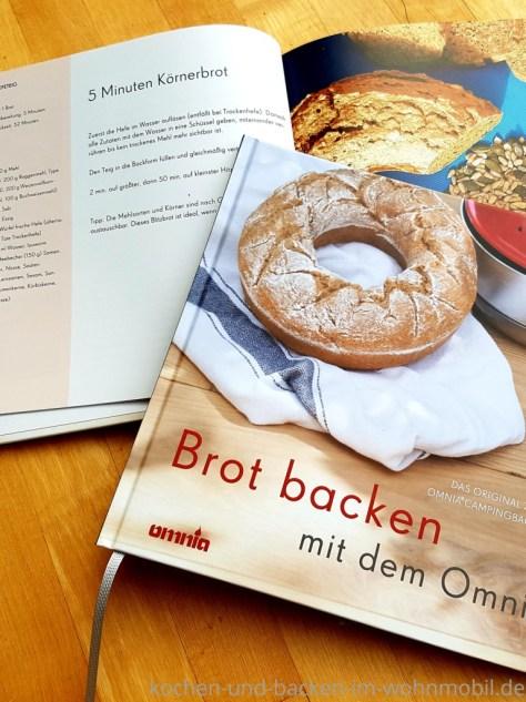Mein Backbuch für den Omnia Ofen