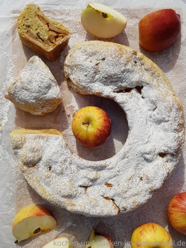 Rezept für den Omnia: Apfelstrudel