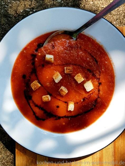 Gazpacho, kalte Suppe aus Spanien