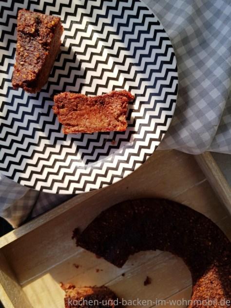 Omnia Rezept: gesunde Brownies. Glutenfrei, zuckerfrei und vegan.