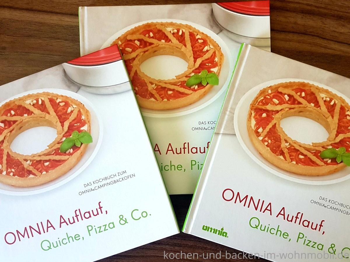 Orig Omnia-Kochbuch Pizza Gratin /& Aufläufe Rezepte für den Omnia Backofen NEU