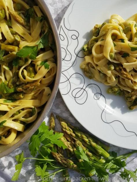 Omnia Rezept: One Pot Spargel Pasta