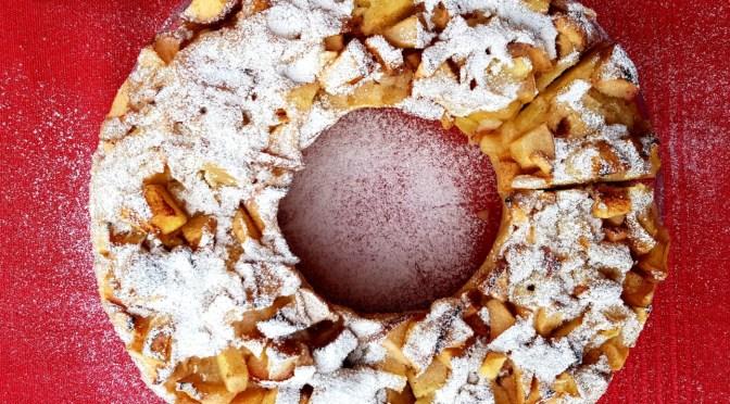 One Pot Apfelkuchen aus dem Omnia Backofen
