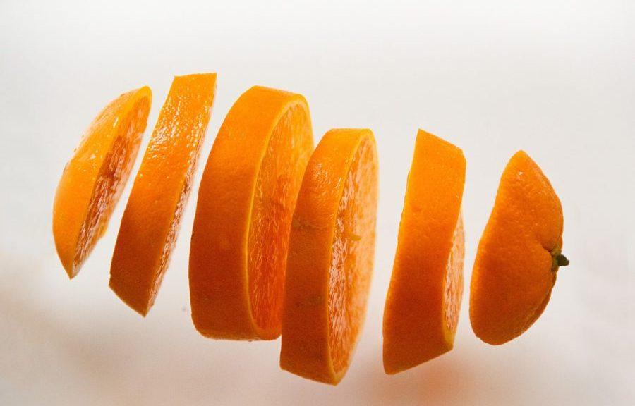 Orangenschale