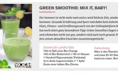 Kochhelden im reflect Magazin - www.kochhelden.tv
