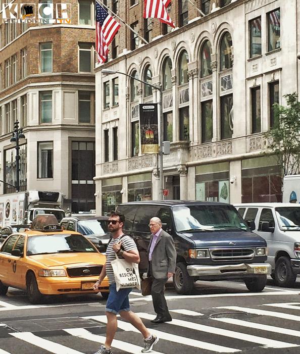 Unterwegs in New York City,