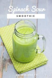 Spinach Sour Smoothie - www.kochhelden.tv