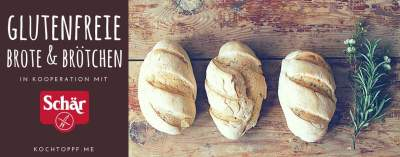Blog-Event CXXXVI - Glutenfreie Brote und Broetchen in Kooperation mit Schaer (Einsendeschluss 20. November 2017)