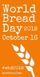 World Bread Day 2018, October 16