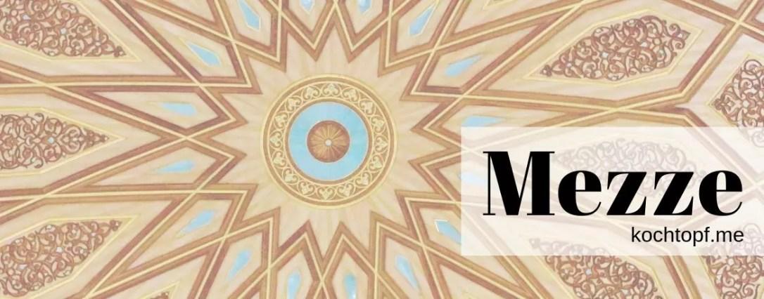 Blog-Event CLV - Mezze (Einsendeschluss 15. August. 2019)