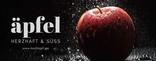 Blog-Event CLVII - Äpfel (Einsendeschluss 15. Oktober 2019)