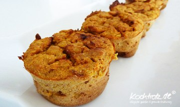 Apfel-Karotten-Kichererbsen-Muffins