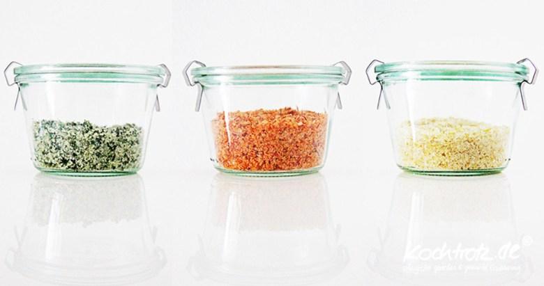 Aromatisiertes Salz