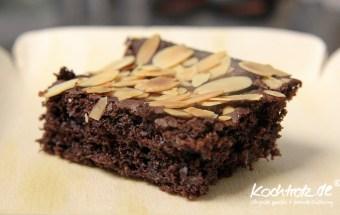 Schoko-Mandel-Kirsch-Brownie