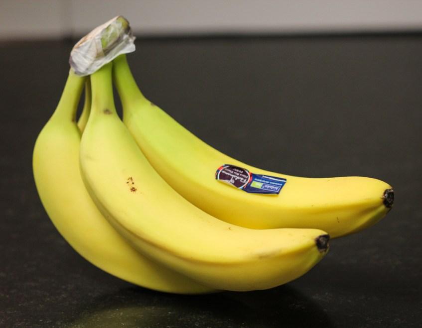 Wie halten Bananen länger frisch?