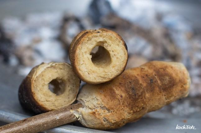 Stockbrot glutenfrei | mit wenig Hefe | ohne kneten | gelingsicher | vegan