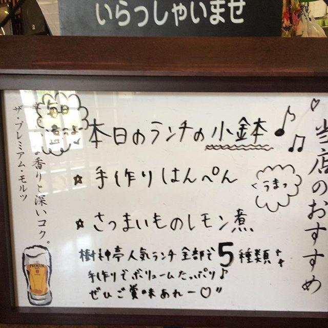 本日のランチtoday lunch menus!手作りはんぺんさつまいものレモン煮#kodamatei #JAPAN #UDON #SOBA #Aichi #樹神亭 #愛知県 #安城市 - from Instagram