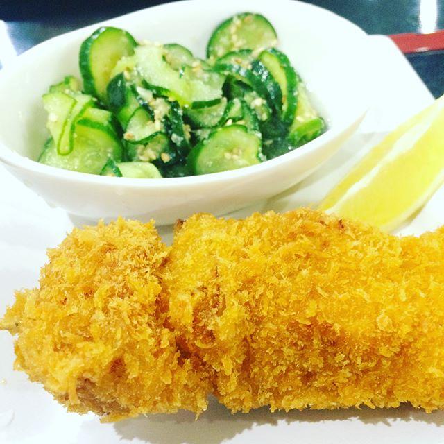 今日のランチ串カツ酢の物きゅうりtoday lunch menus!#kodamatei #JAPAN #UDON #SOBA #Aichi #樹神亭 #愛知県 #安城市 - from Instagram