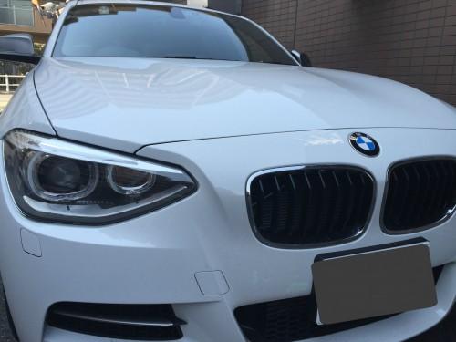 BMWの飛び石リペア
