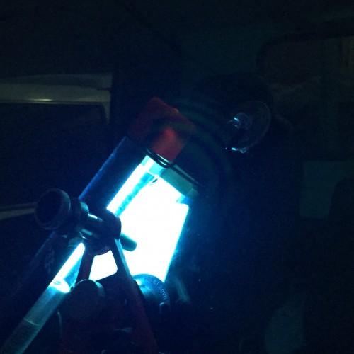 トラックのガラスリペア