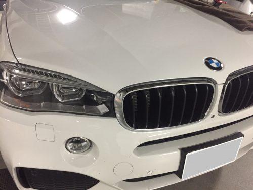 BMWのフロントガラスリペア