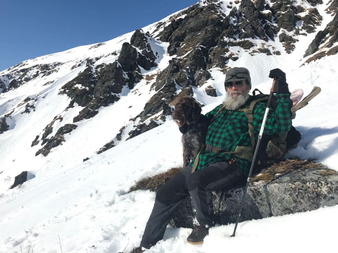 "Alaska bear hunting guide Mike Horstman in ""The Hunt"""