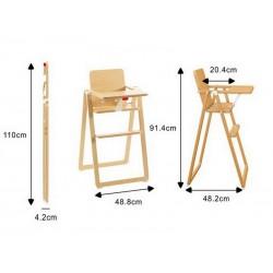 chaise pliante supaflat pro hetre clair