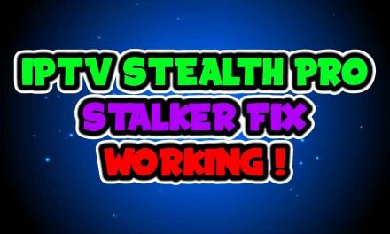 IPTV STEALTH PRO – STALKER FIX