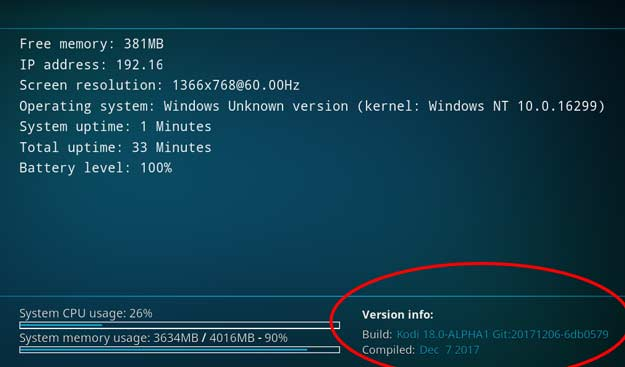kodi v18 windows 64 bit download