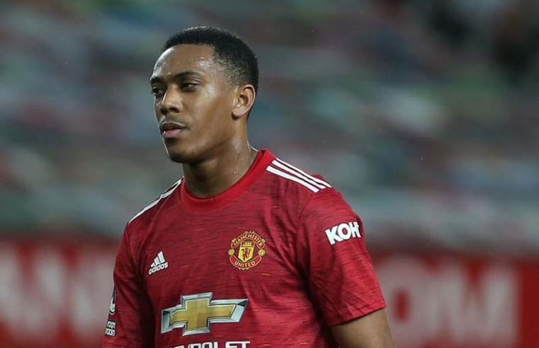 Manchester United star Anthony Martial sent a message amid criticism