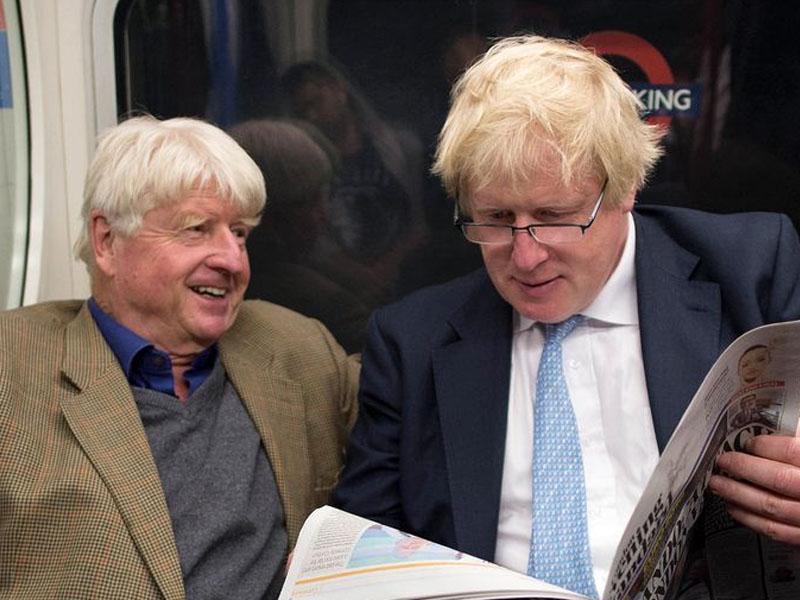 """Boris Johnson's father applies for French citizenship: """"I will always be European, that's for sure"""""""