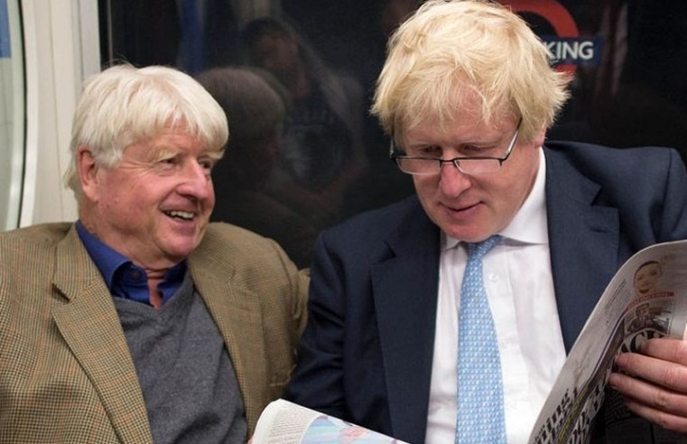 "Boris Johnson's father applies for French citizenship: ""I will always be European, that's for sure"""
