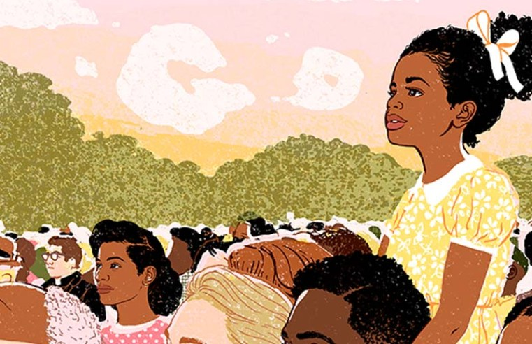 Google Doodle offers historical parallel for Martin Luther King Day