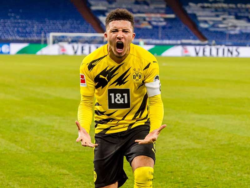 Borussia Dortmund fans have new Jadon Sancho Manchester United transfer theory after goal