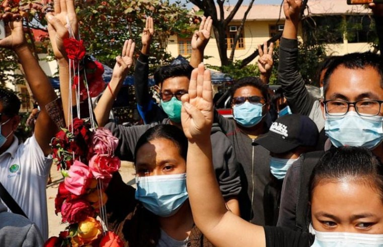 Myanmar junta shuts Twitter and Instagram to curb protests