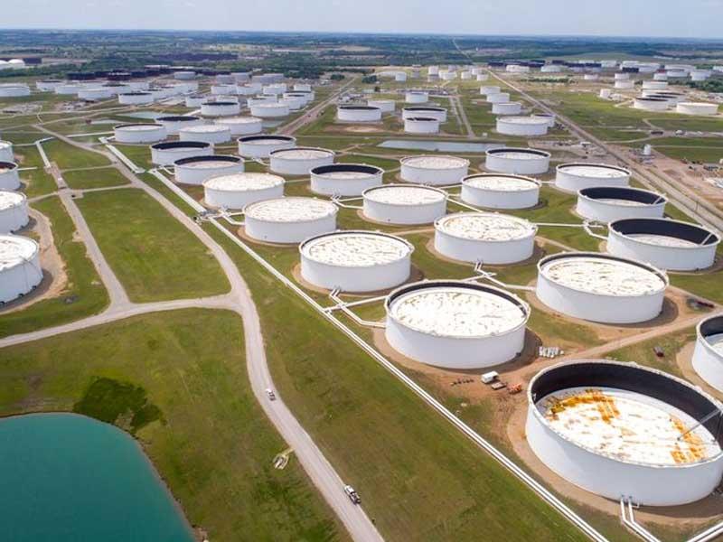 Oil prices drop on surprise build in U.S. crude stocks