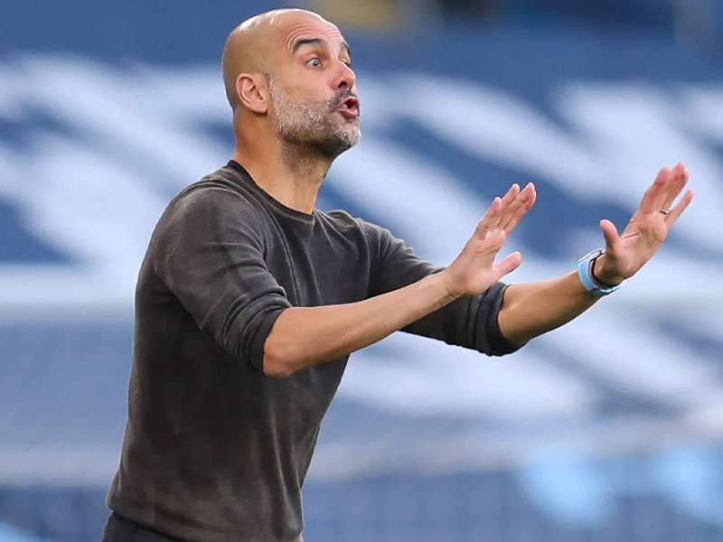 Pep Guardiola makes eight changes to Man City team vs Crystal Palace