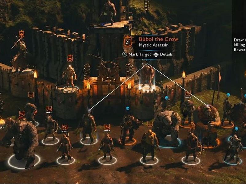 Warner Bros Games patent Shadow of War's Nemesis System