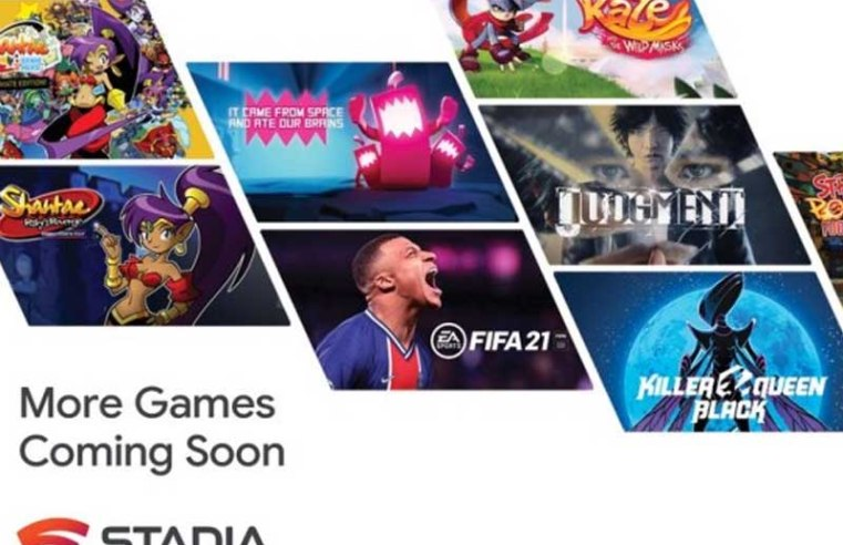 Google promises 100 games coming to Stadia in 2021