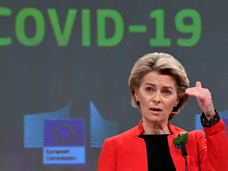 EU threatens to block COVID-19 vaccine exports to U.K. as it stares down a third wave