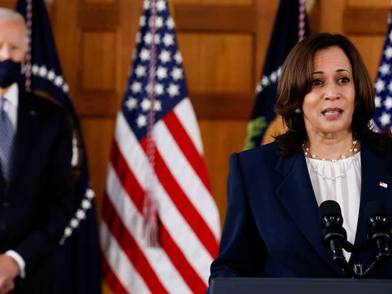 VP Harris calls out people with 'biggest pulpits spreading hate' during Atlanta visit following spa parlors massacre