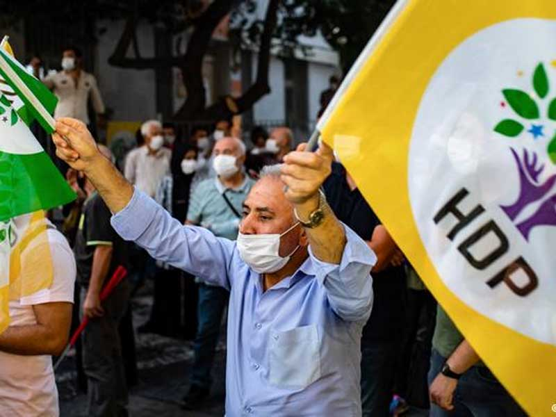 Turkish police detain dozens of pro-Kurdish party officials