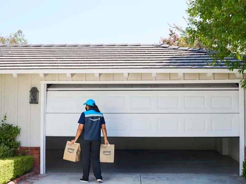 Amazon is making in-garage delivery an option for all grocery delivery orders
