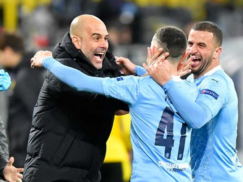 Pep Guardiola's message to Phil Foden during Man City goal celebration revealed