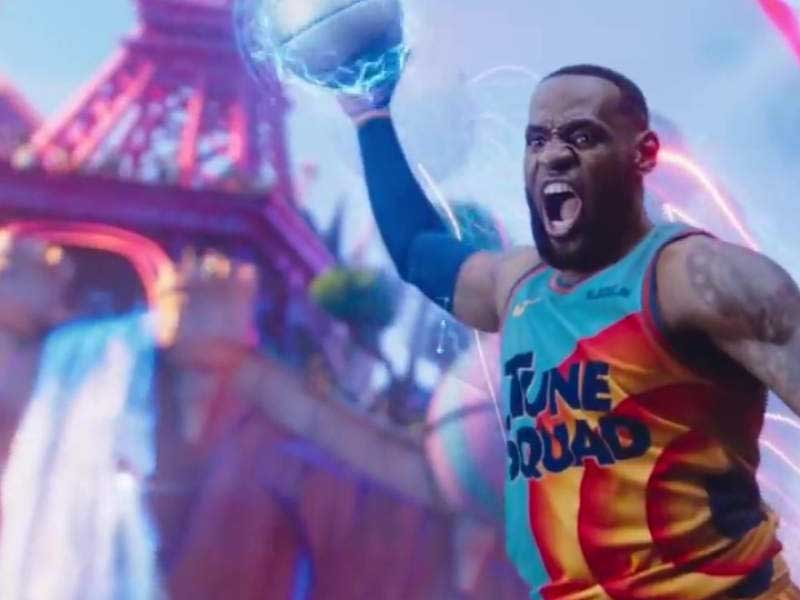Space Jam A New Legacy trailer shows LeBron James in 3D and 2D
