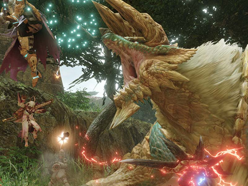Monster Hunter Rise End of April Update Patch Size Revealed