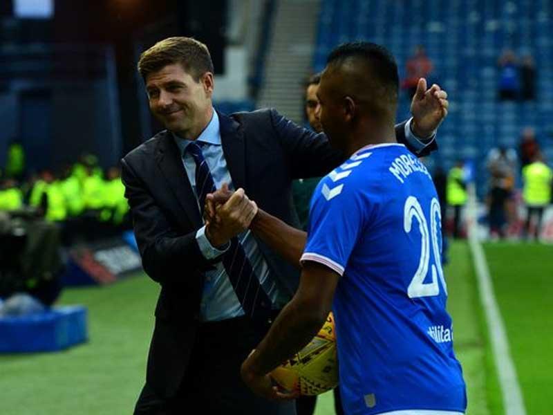 Steven Gerrard will be 'last in the queue' to get Rangers Premiership medal