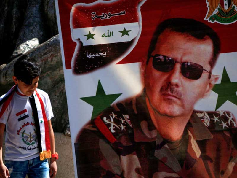 Syria dictator Assad casts vote in 'sham' presidential election